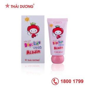 Dầu gội dược liệu trị chấy Aladin Nits & Lice Shampoo
