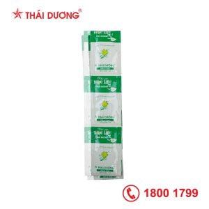 Dầu gội dược liệu Thái Dương 3 Mùi lá - dạng gói