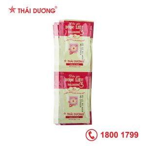 Dầu gội dược liệu Thái Dương 3 Hương nước hoa - dạng gói