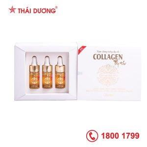 Serum nước dưỡng trắng đẹp da Collagen Tây Thi hộp 3 lọ