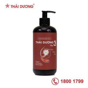 Dầu gội dược liệu Thái Dương 3 hương hoa 480ml